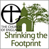 C Of E Shrinking The Footprint Graphic